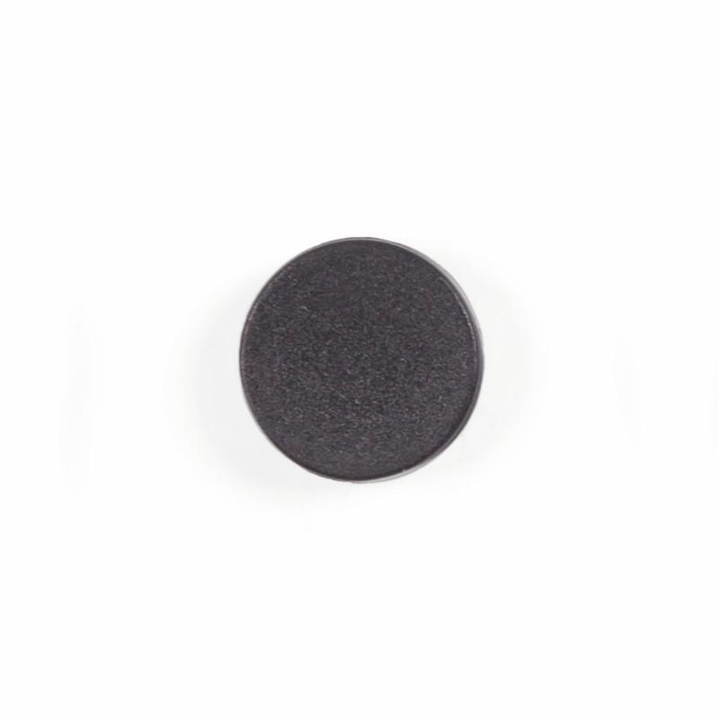 Magnets Bi-Office Round Magnets 10mm Black (Pack 10)