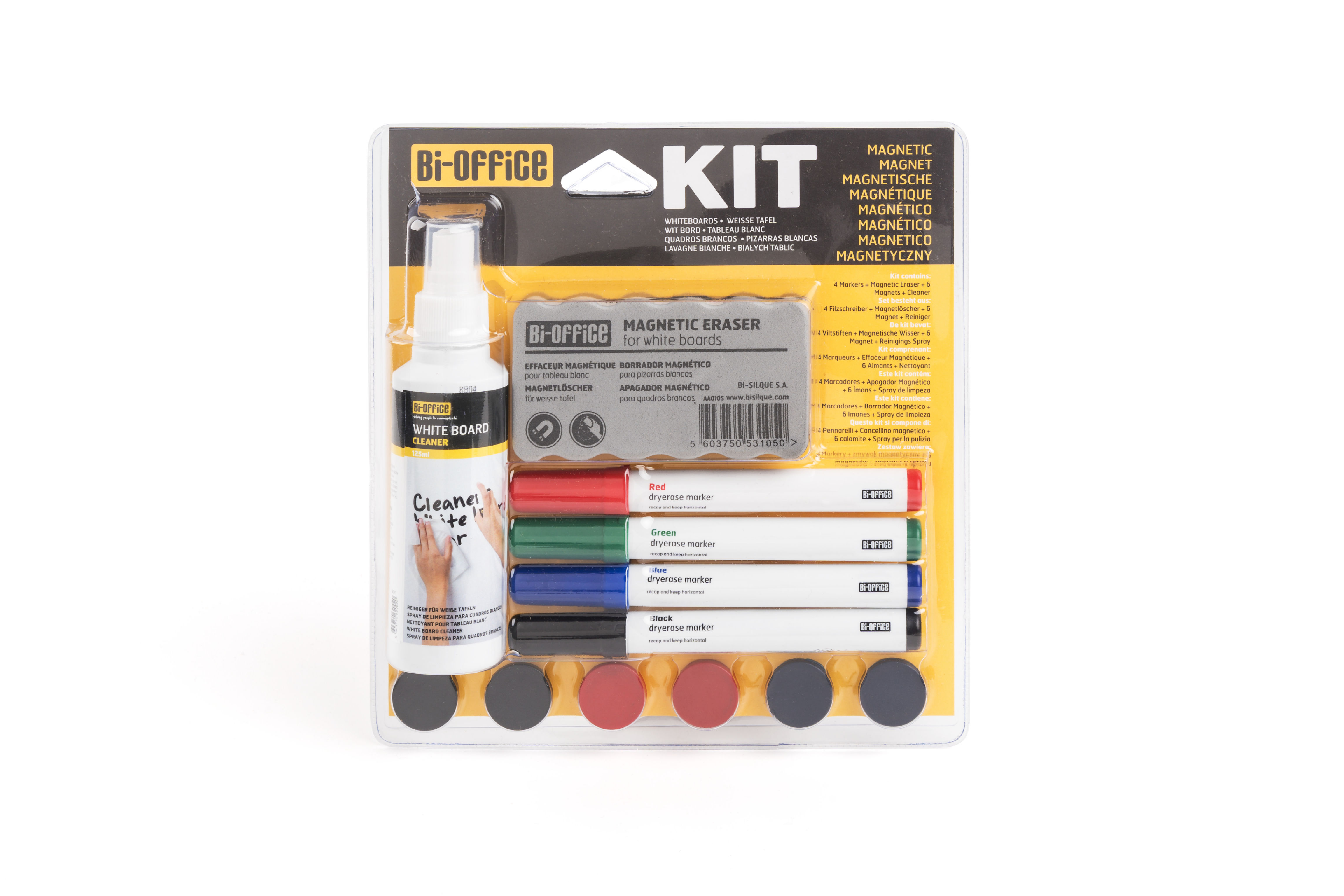 Magnets Bi-Office Magnetic Board Accessory Kit