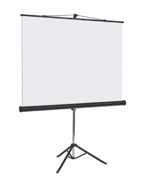 Bi-Office Tripod Screen Black Border Blk Housing 178x178