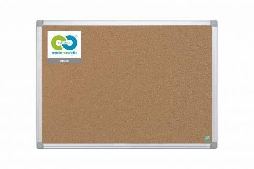 Image of Bi-Office Earth-It Maya Cork Notice Board 90x60cm Promotional Offer Fr