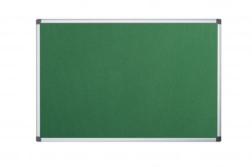Bi-Office Maya Green Felt Ntcbrd Alu Frame 90x60cm