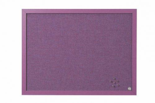 Bi-Office Lavender Purple Notice Board 60x45