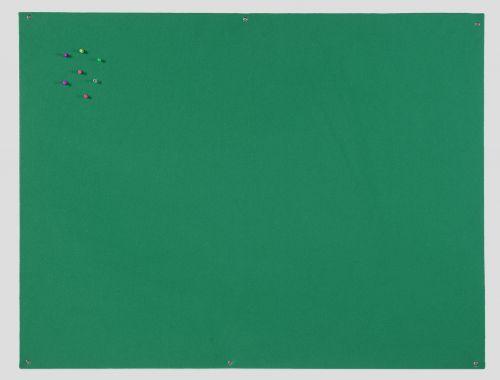 Bi-Office Unframed Green Felt Notice Board 120x90cm