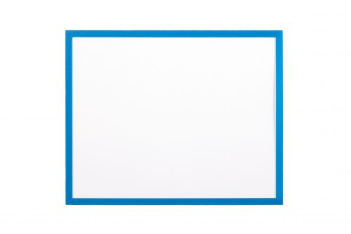 Bi Office Adhesive Document Holder Blue A4