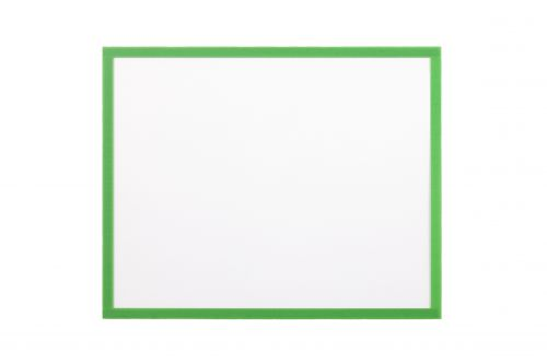 Bi Office Adhesive Document Holder Green A4