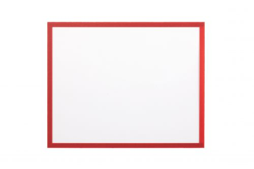Bi Office Adhesive Document Holder Red A4