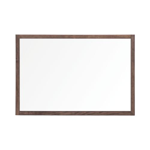 Bi-Office Protector Glass Board W/Clamps Wood Frm 900x600