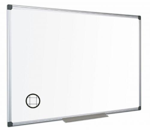 Bi-Office Maya Gridded Dry Wipe Flip Whiteboard 45x30cm