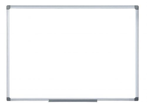 Bi-Office Magnetic Drywipe Alum Framed Whiteboard 600x900