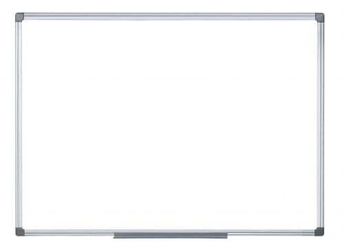 Bi-Office Magnetic Drywipe Alum Framed Whiteboard 1200x900