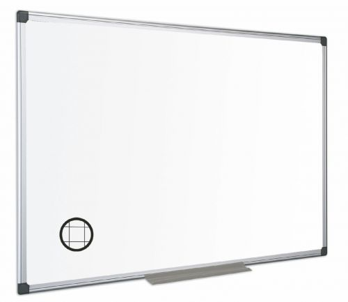 Bi-Office Maya Gridded Dry Wipe Flip Whiteboard 120x90cm