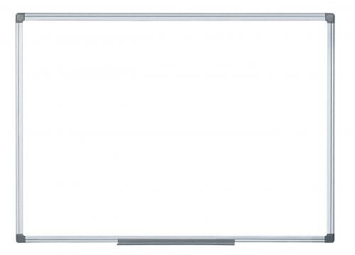 Bi Office Magnetic Whiteboard 2 Sided 900 x 900mm