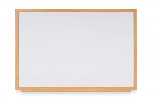 Bi-Office Earth-It drywipe 240x120cm oak Exec 22 mm frm
