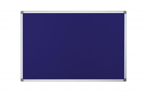 Bi-Office Maya Fire Retardant Noticebrd Blue 2400x1200mm