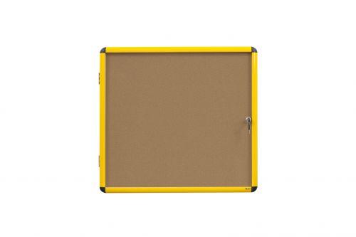 Bi Office Cork Display Case 12 x A4