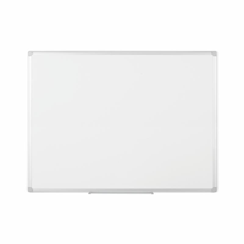 Bi-Office Earth-It Magnetic Lacquered Steel Whiteboard Aluminium Frame 1200x900mm