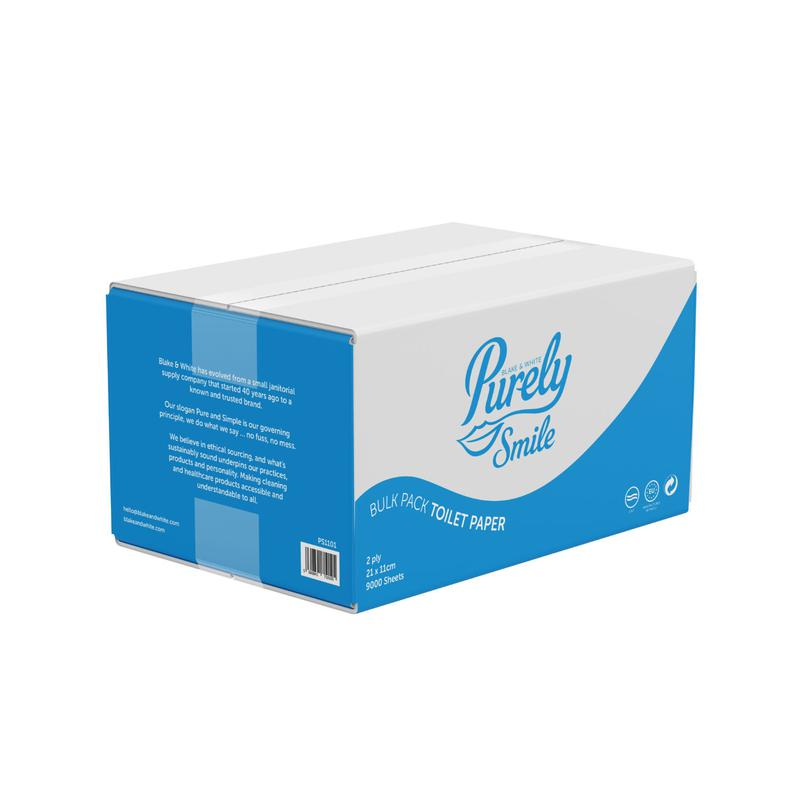 Toilet Tissue & Dispensers ValueX Toilet Paper Bulk Pack For Dispensers Recycled 2 Ply (9000 sheets) PS1101
