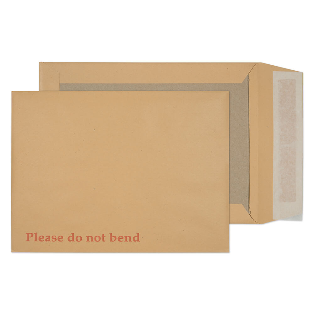 Board Back Pocket P&S Manilla 241x178mm 120gsm PK125