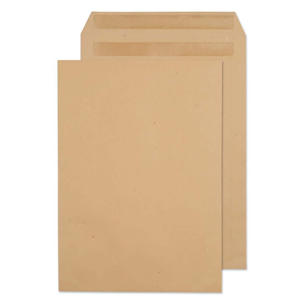 Value Pocket S/S Plain C4 324x229mm 90gsm Manilla PK250