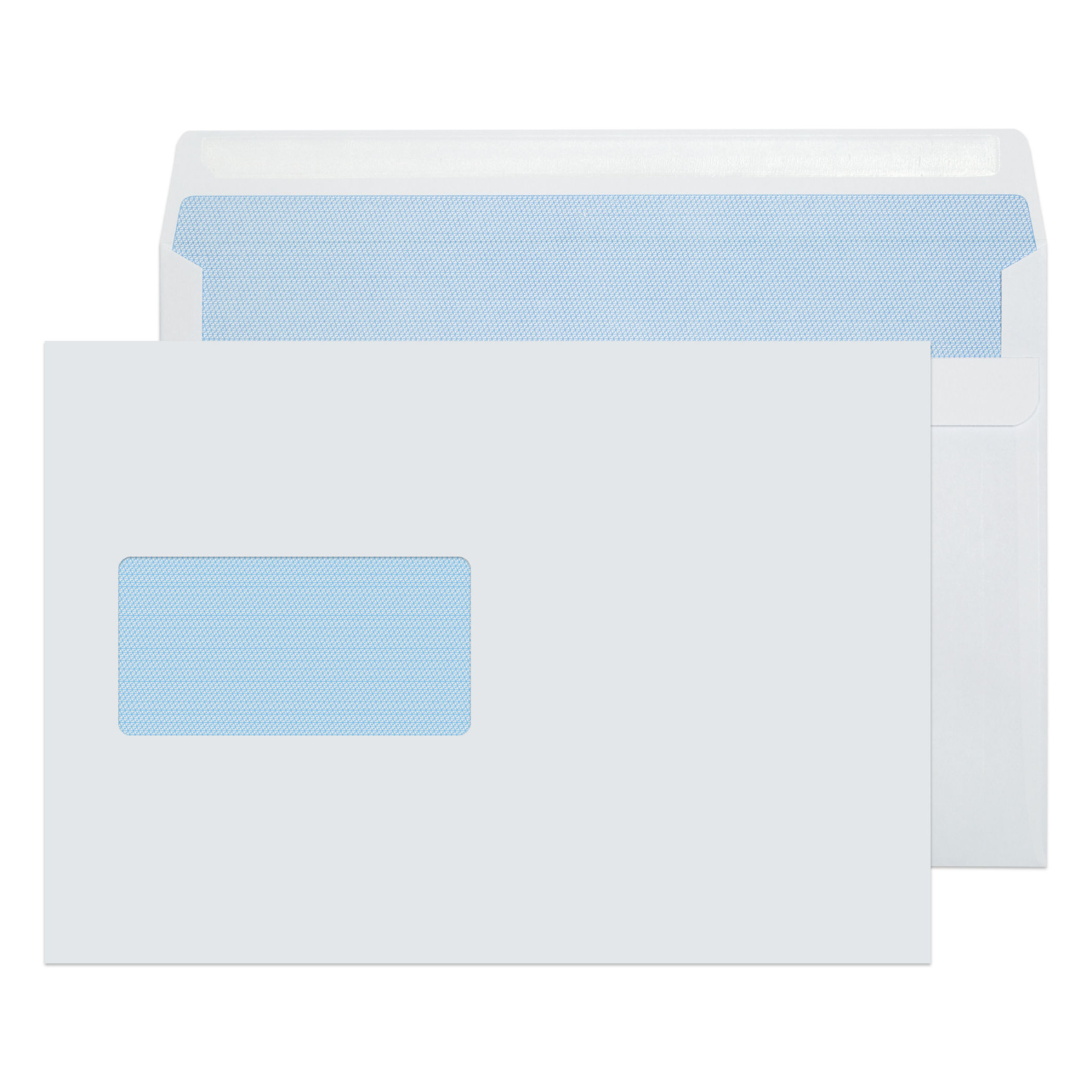 C5 Purely Everyday White Wndw Self Seal Wallet C5 90gsm PK500