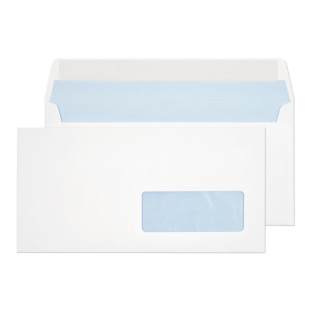 Everyday White Window P&S Wallet DL 110x220 100gsm PK500