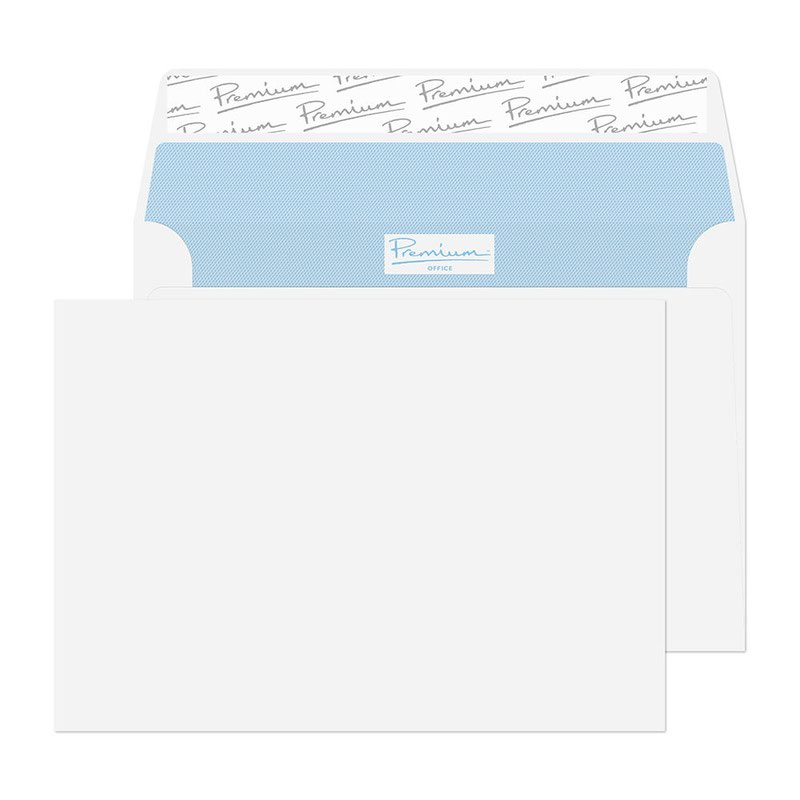 Blake Premium Office C6 Wallet Peel&Seal 120gsm Wove Ultra White Ref 31215 [Pack 500] 3to5 Day Leadtime