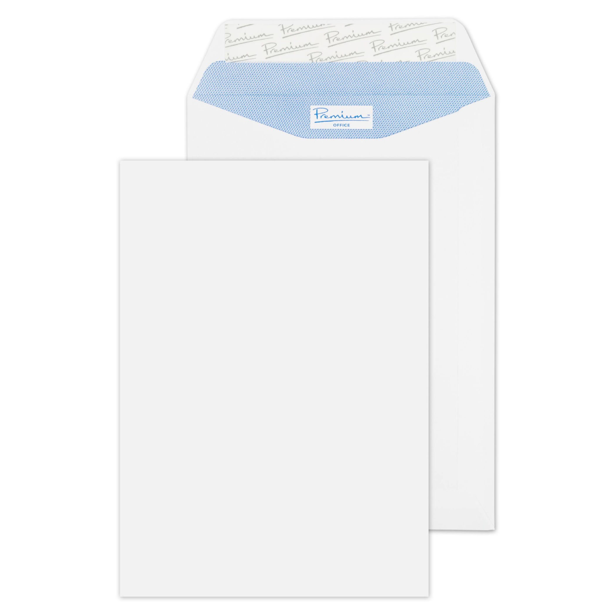 C5 Prem Business Pocket P/S C5 229x162mm Ultra White PK500