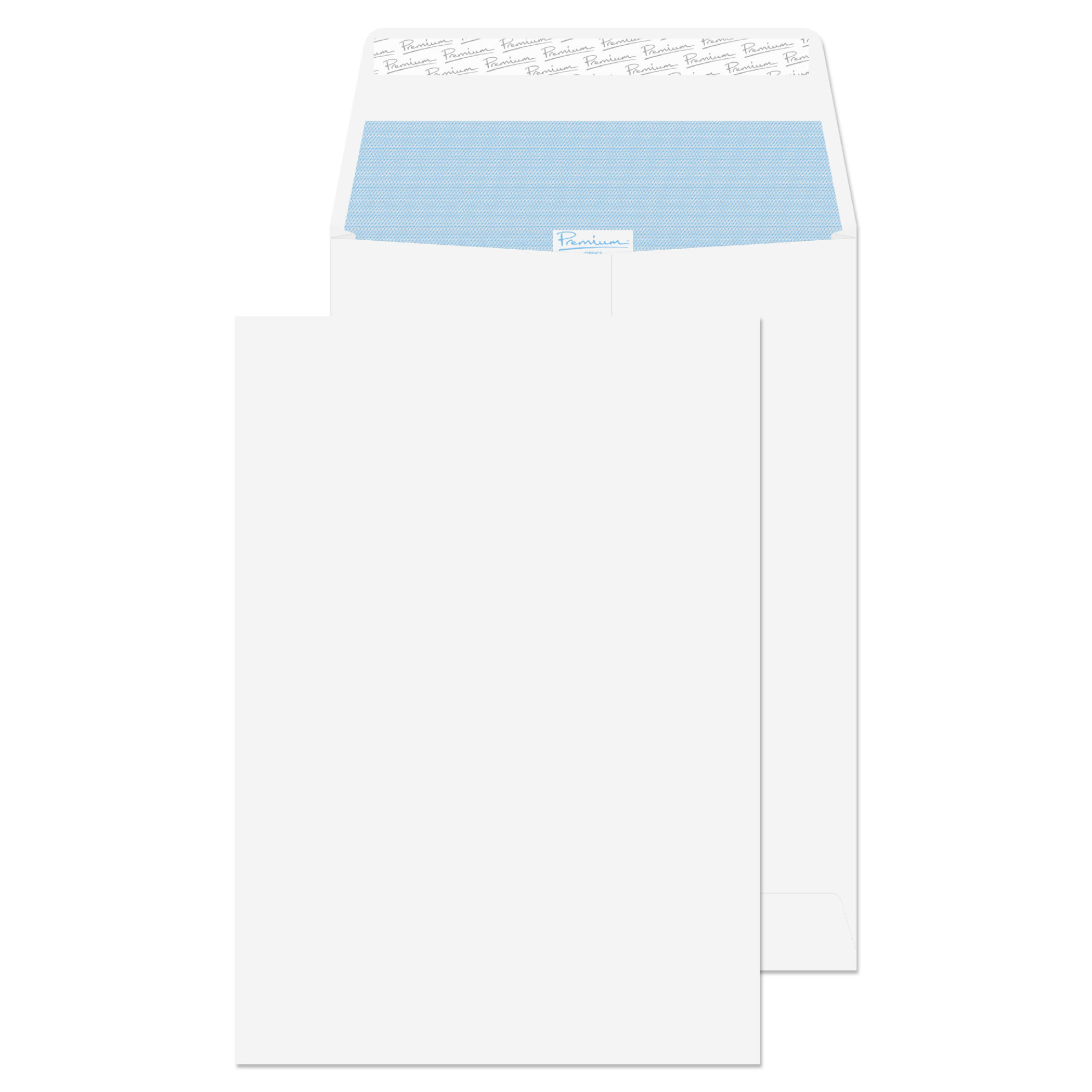 Gusset Envelopes Blake Premium Office Pocket Gusset Envelope C4 Peel and Seal Plain 25mm Gusset 140gsm White Wove (Pack 100)