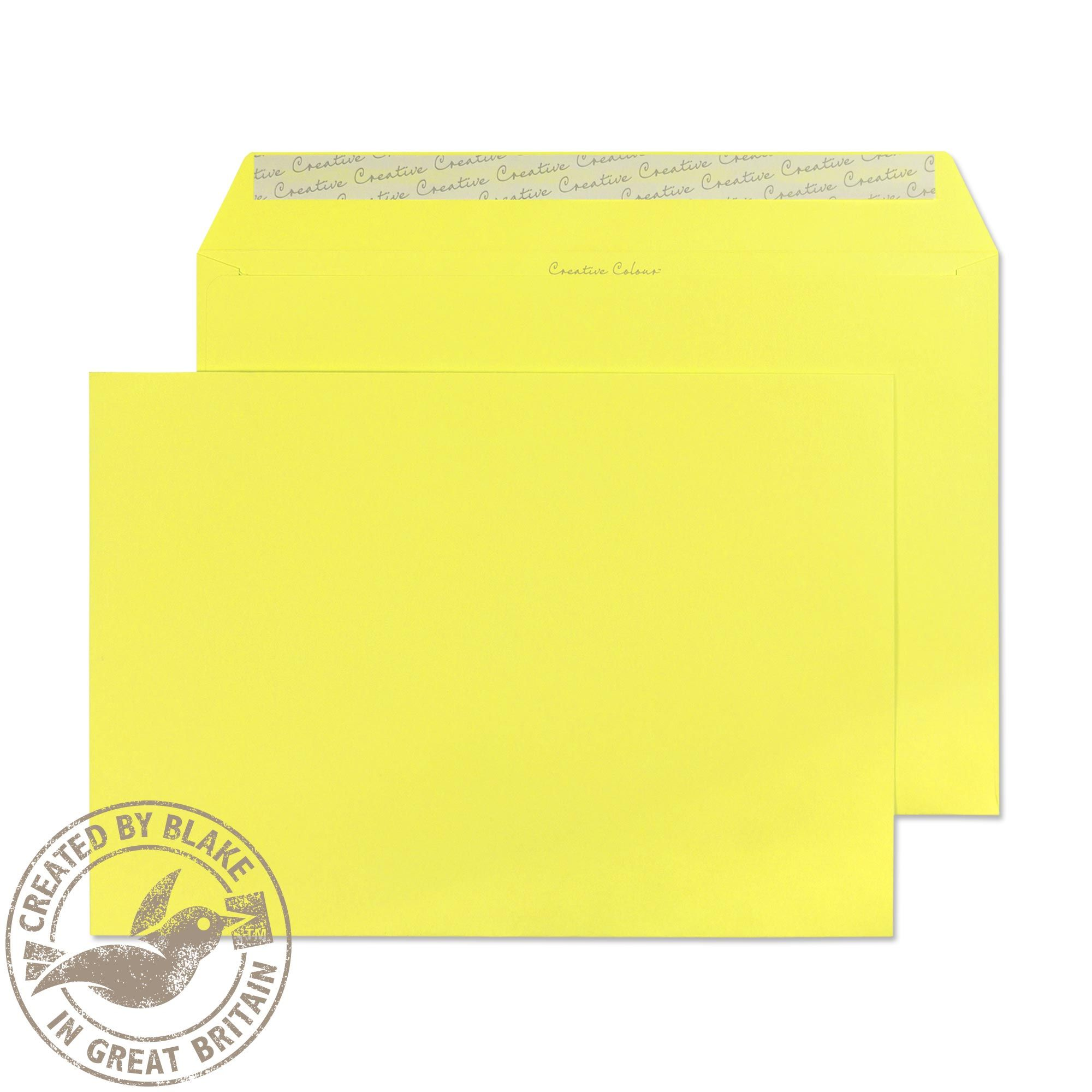 Blake Creative Colour Bl 416 Lemon Yellow C4 P Amp S Wlt Paper