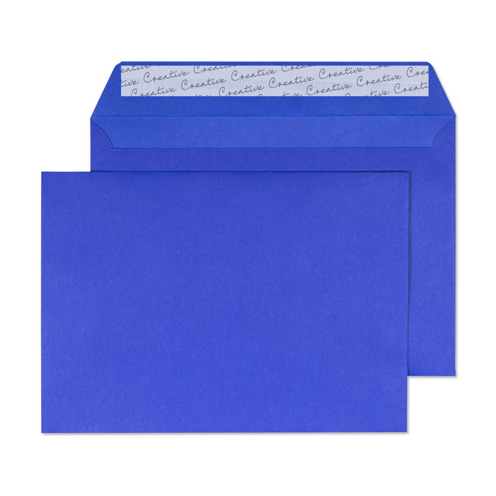 Blake Creative Colour Victory Blue Peel & Seal Wallet 162x229mm 120gsm Pack 25 Code 45343