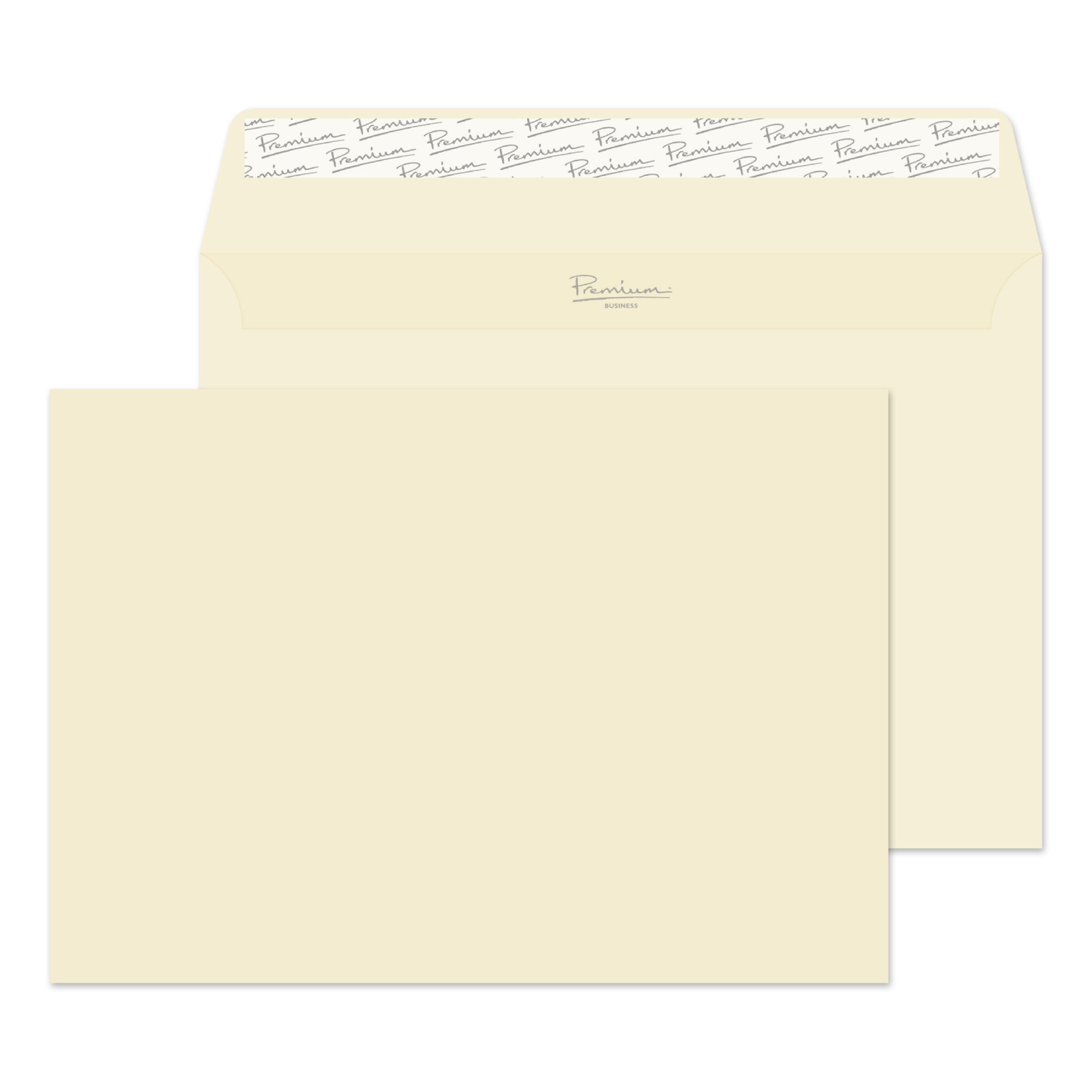 Shades of White Premium Business C5 120gsm Wallet P&S Cream Wove PK50