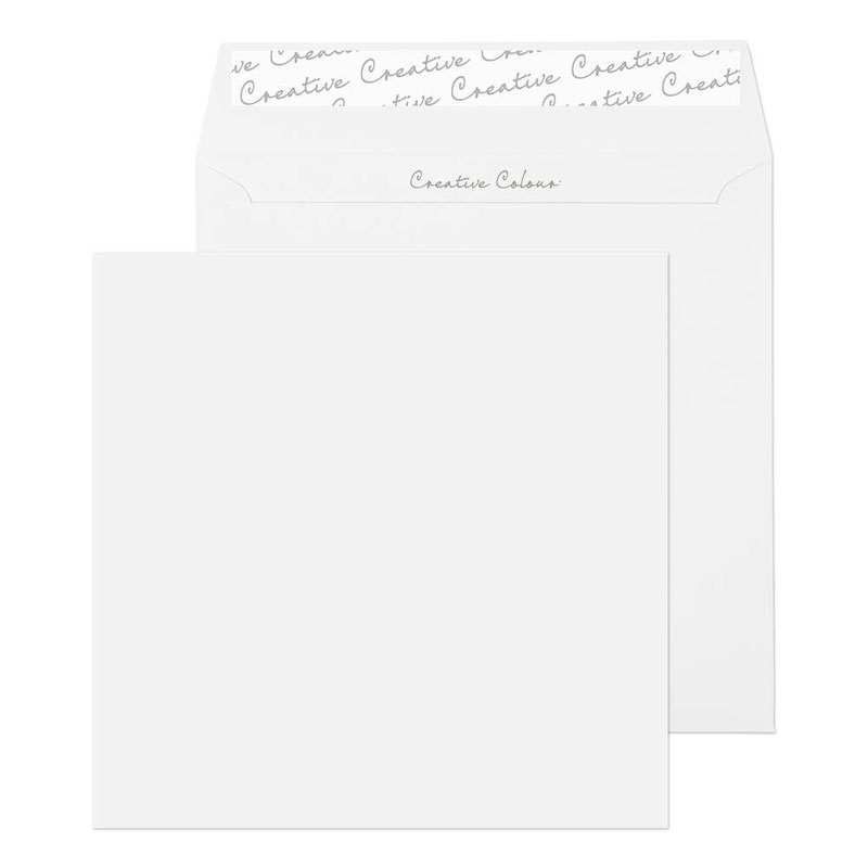 )Cre SquWlt P&S IWht 120gsm 155x155mm500