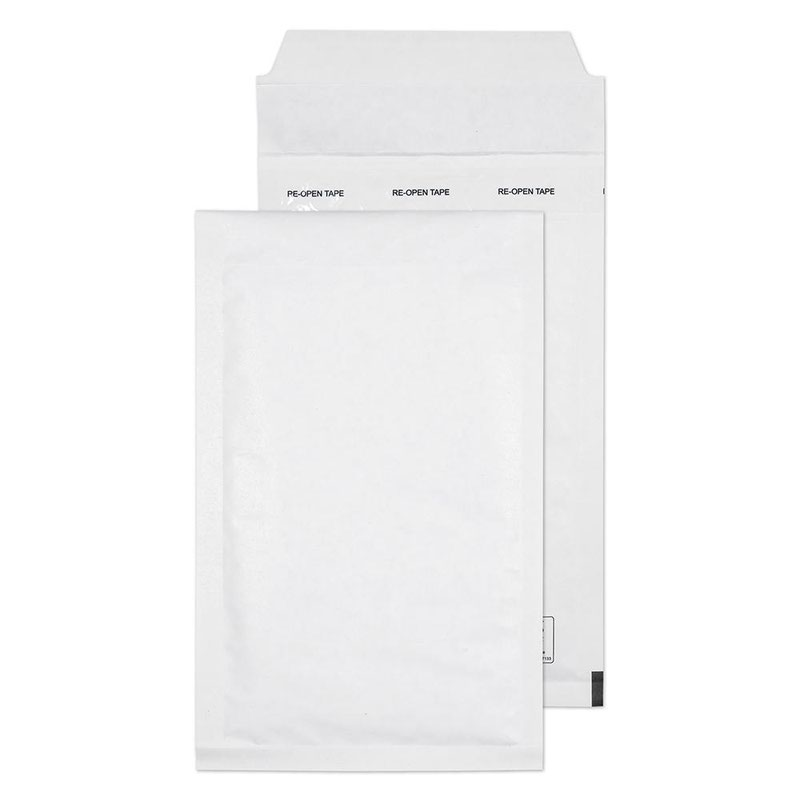 Blake Purely Packaging White Peel & Seal Padded Bubble Pocket 220x120mm 90gsm Pack 200 Code B/00