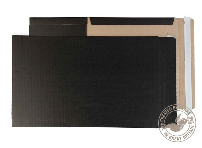 )Purely Blk BkWrps P&S 350x250x50mm Pk25