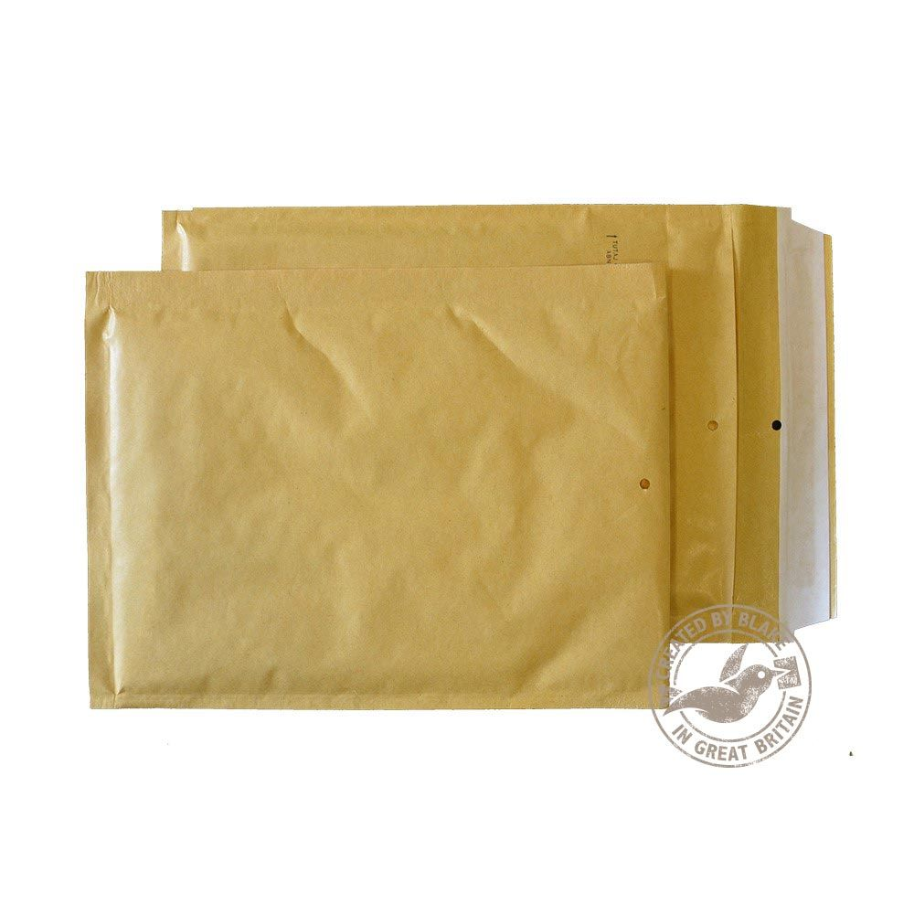 Blake Purely Packaging Gold Peel & Seal Padded Bubble Pocket 215x150mm 90g Pk100 Code C/0 GOLD