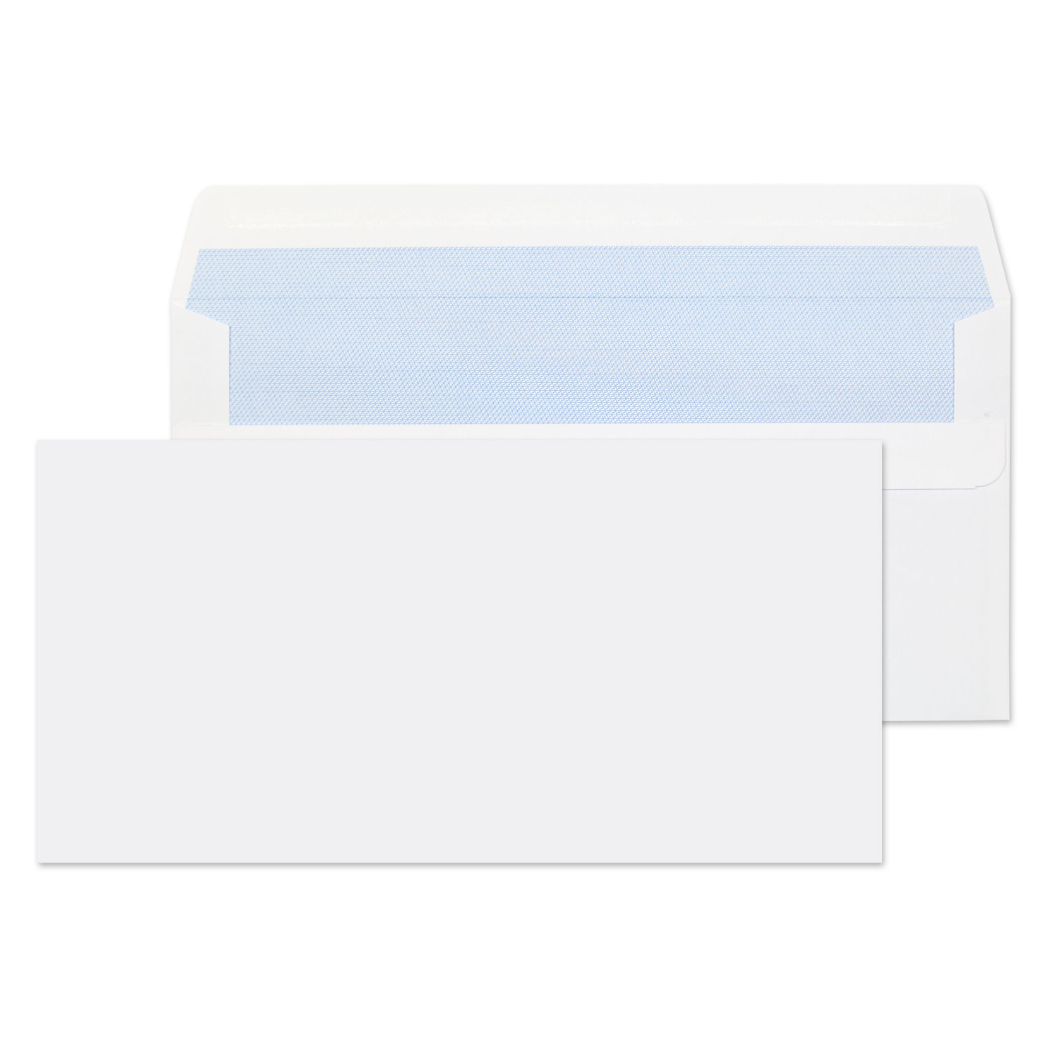 Value Wallet S/S Plain DL 110x220mm 80gsm White PK1000