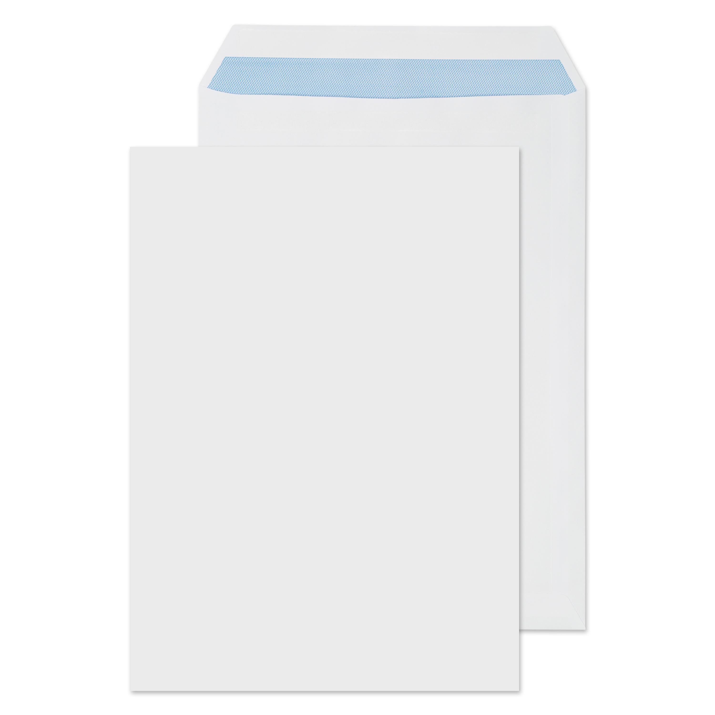 C4 Blake Purely Everyday Pocket Envelope C4 Self Seal Plain 100gsm White (Pack 250)