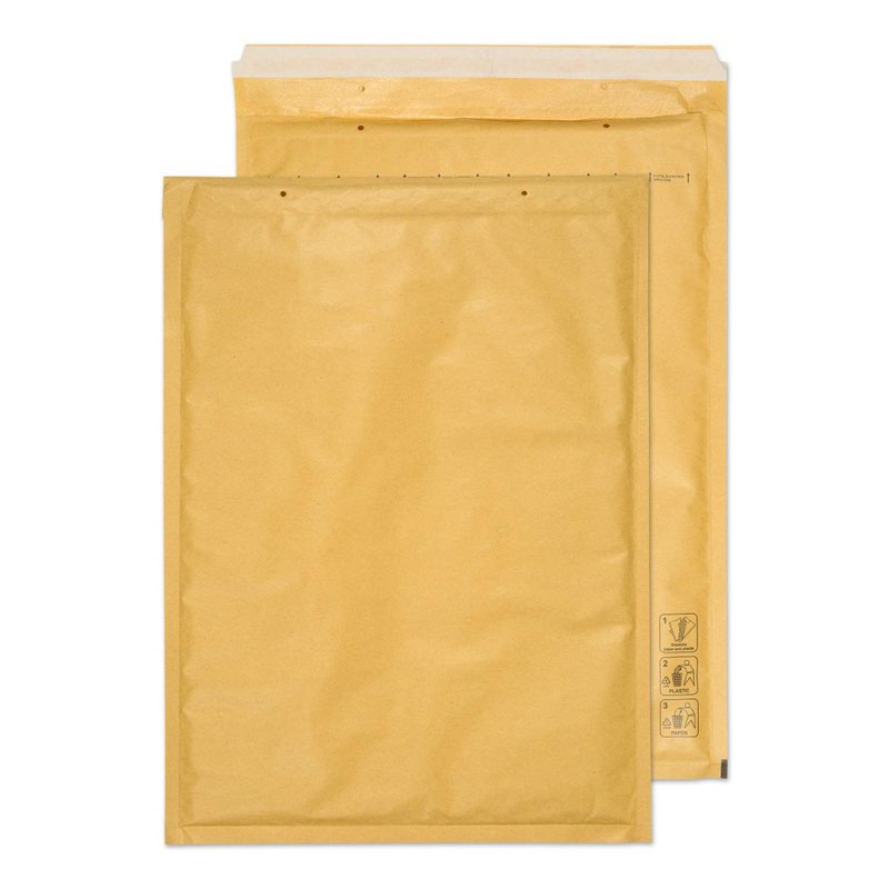 Blake Purely Packaging Gold Peel & Seal Padded Bubble Pocket 320x440mm 90g Pk50 Code J/6 GOLD