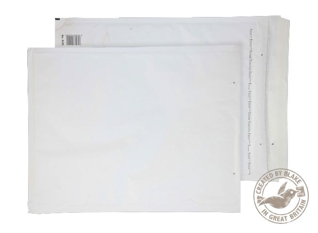 Blake Purely Packaging White Peel & Seal Padded Bubble Pocket 470x350mm 90gsm Pack 50 Code K/7