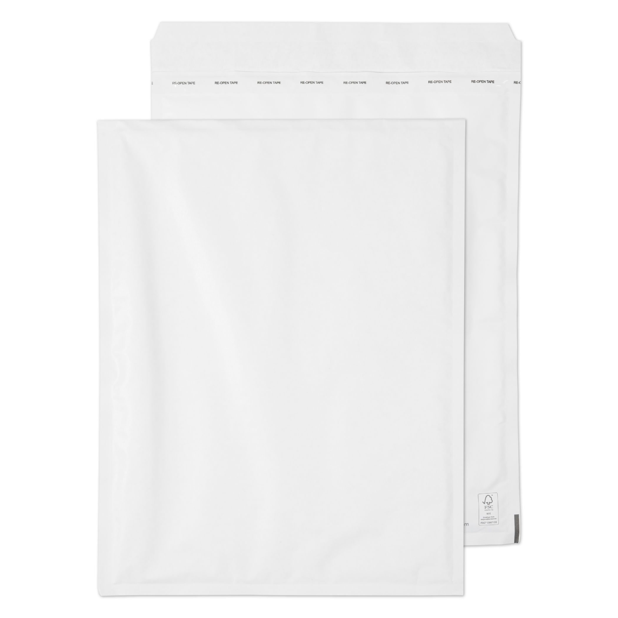 Blake Padded Bubble Pocket P&S White 470x350mm PK50