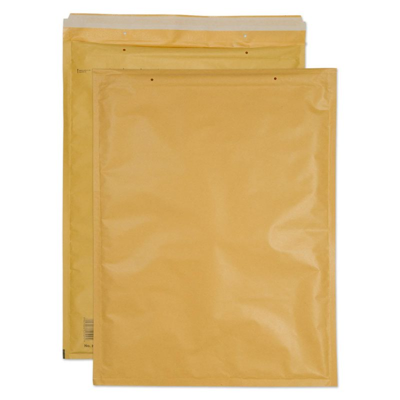 Blake Purely Packaging Gold Peel & Seal Padded Bubble Pocket 470x350mm 90g Pk50 Code K/7 GOLD