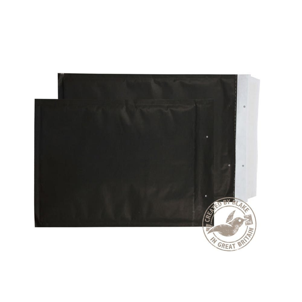 Blake Purely Packaging Black Peel & Seal Padded Bubble Pocket 260x180mm 90g Pk100 Code KBP260