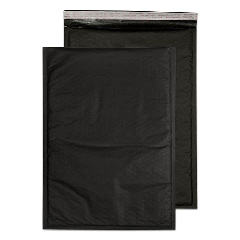 Blake Purely Packaging Black Peel & Seal Padded Bubble Pocket 470x330mm 90gsm Pack 50 Code KBP470