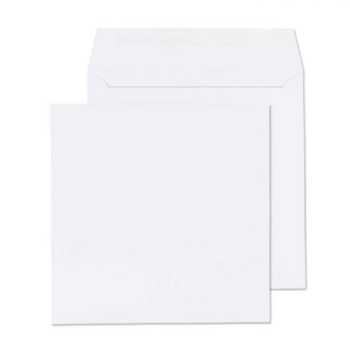 Purely Everyday Square Wallet Gummed White 100gsm 155x155mm Ref 0155SQ [Pack 500] *10 Day Leadtime*