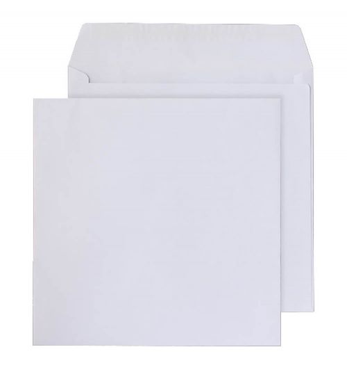 Purely Everyday Square Wallet P&S White 100gsm 165x165mm Ref 0165PS [Pack 500] *10 Day Leadtime*