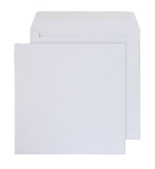 Purely Everyday Square Wallet Gummed White 100gsm 205x205mm Ref 0205SQ [Pack 500] *10 Day Leadtime*