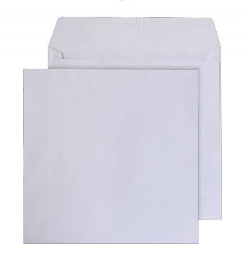Purely Everyday Square Wallet P&S Ultra White Wve 120gsm 220x220 Ref 0220PS Pk250 *10 Day Leadtime*
