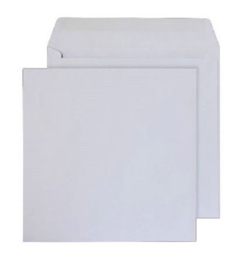 Purely Everyday Square Wallet Gummed White 100gsm 240x240mm Ref 0240SQ [Pack 250] *10 Day Leadtime*