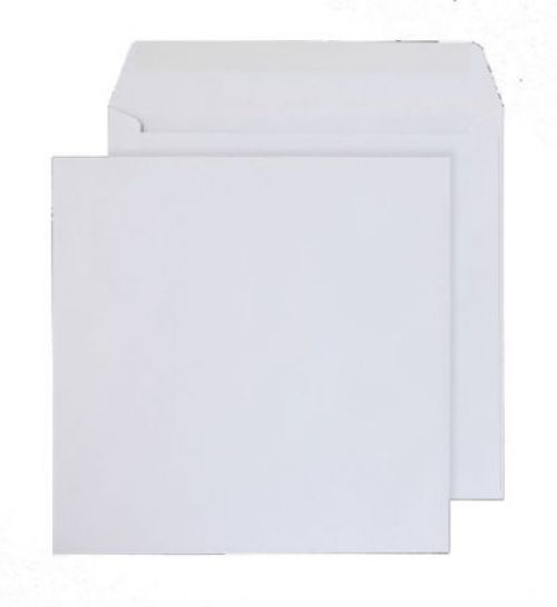 Purely Everyday Square Wallet Gummed White 100gsm 300x300mm Ref 0300SQ [Pack 250] *10 Day Leadtime*