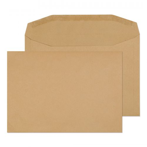 Blake Purely Everyday Manilla Gummed Mailer 162X229mm 80Gm2 Pack 500 Code 1001 3P